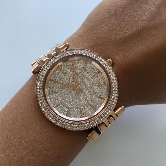 BRAND NEW Michael Kors Rose Gold Watch Mk3439 NWT